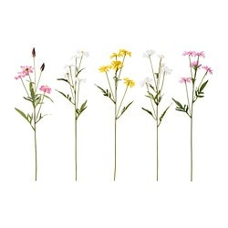 "SMYCKA artificial flower, ox-eye daisy assorted colors Height: 23 ½ "" Height: 60 cm"