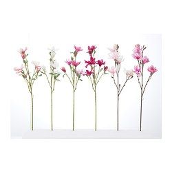 "SMYCKA artificial flower, Magnolia assorted colors Height: 23 ½ "" Height: 60 cm"