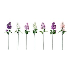 SMYCKA artificial flower, lilac assorted colours Height: 50 cm