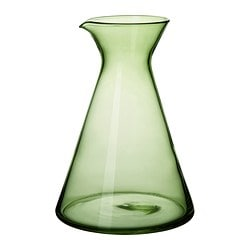 LEENDE carafe, dark green Height: 20 cm Volume: 1.2 l
