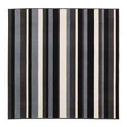 VEMB rug, low pile, brown Length: 193 cm Width: 193 cm Surface density: 2530 g/m²