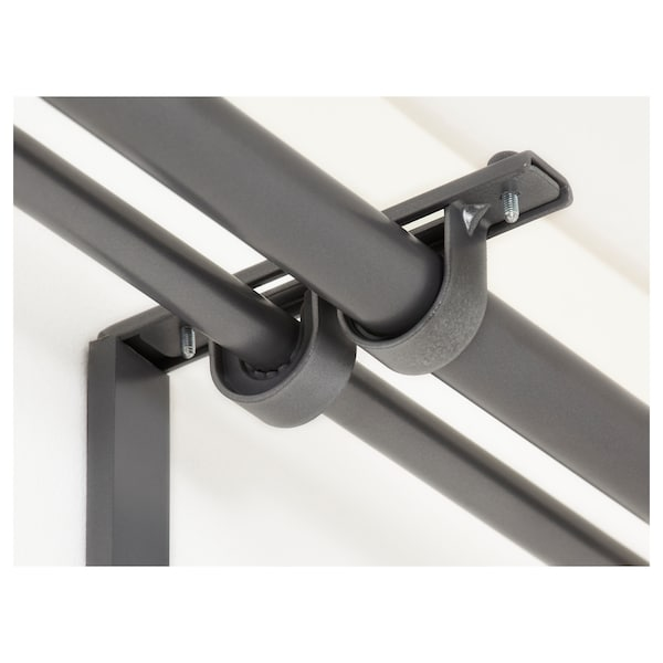 Curtain Rod Holder Betydlig Silver Colour