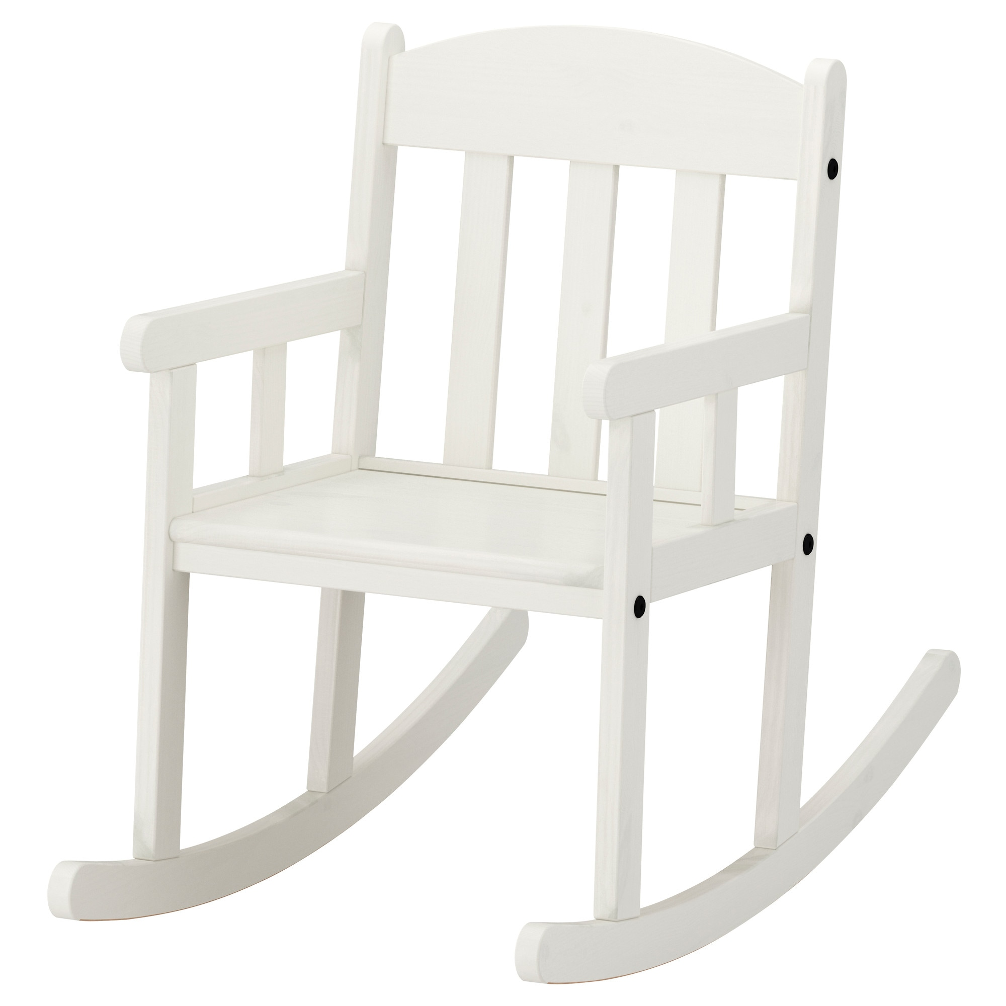 Sundvik Childrens Rocking Chair White