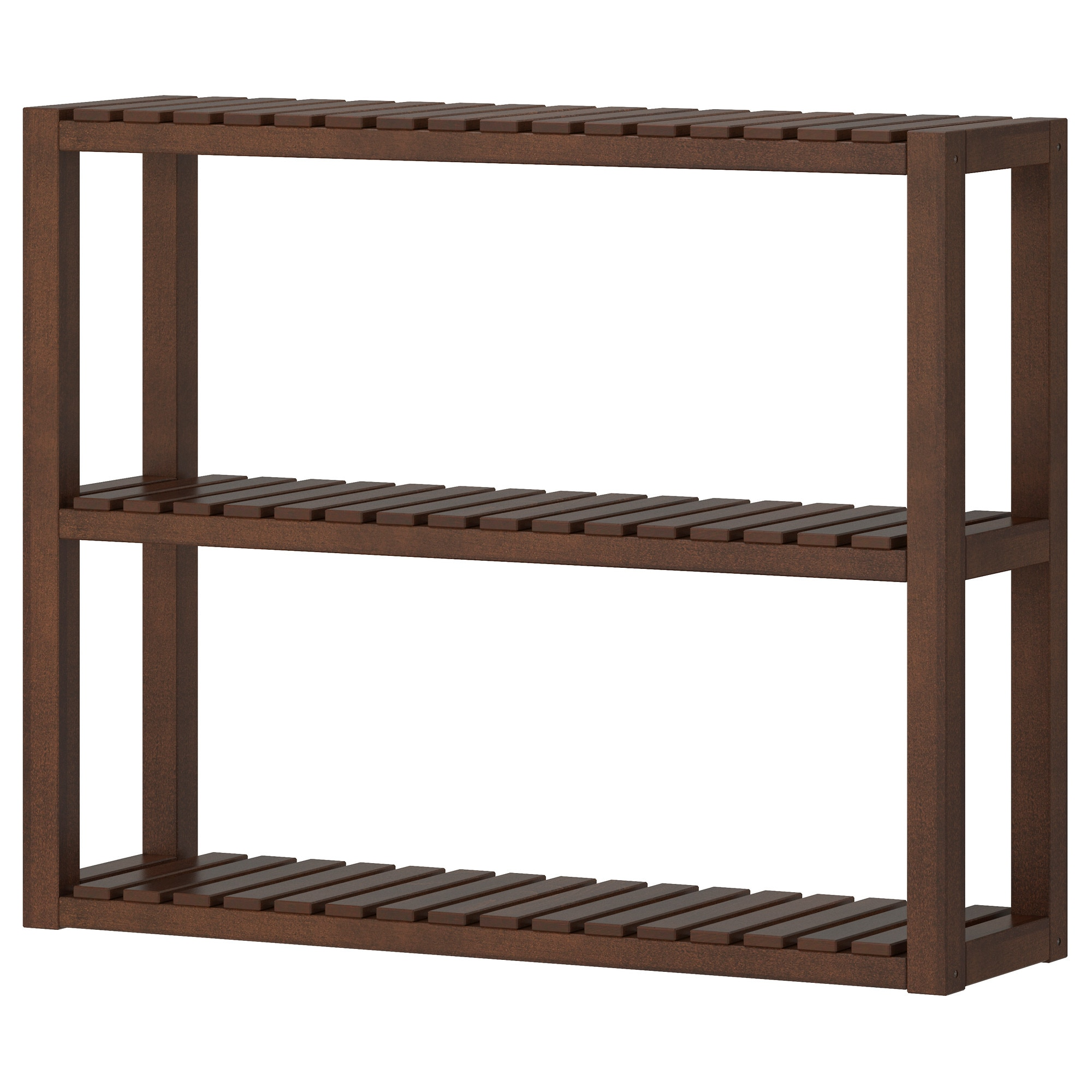 Bathroom Shelf Molger Wall Shelf Dark Brown Ikea
