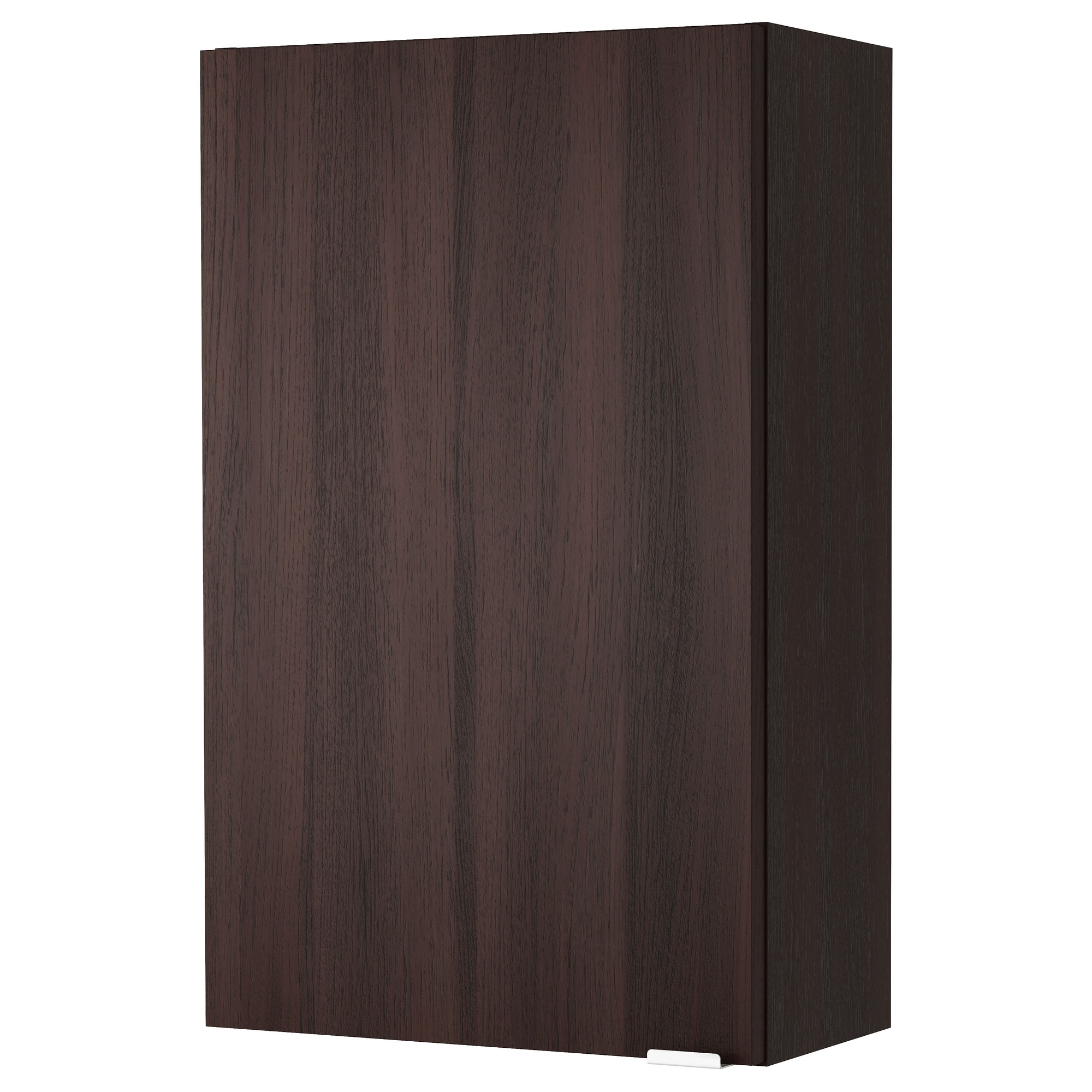 Wall Cupboards lillÅngen wall cabinet - black-brown - ikea
