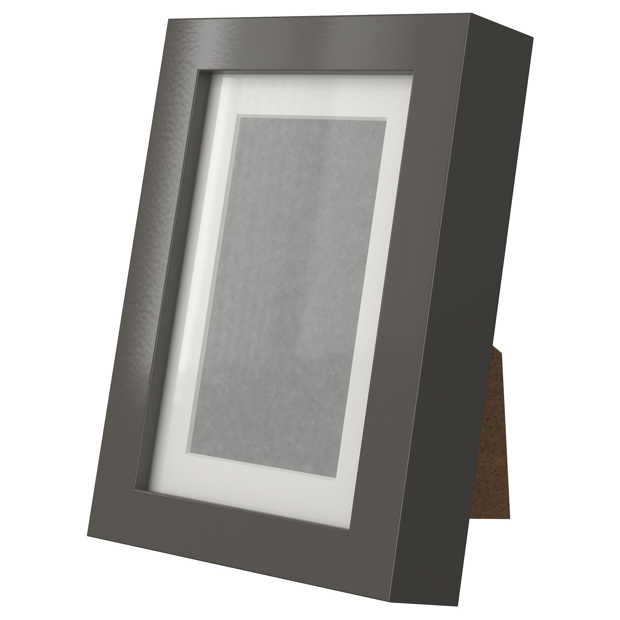 ribba frame high gloss gray picture without mat width 4 picture