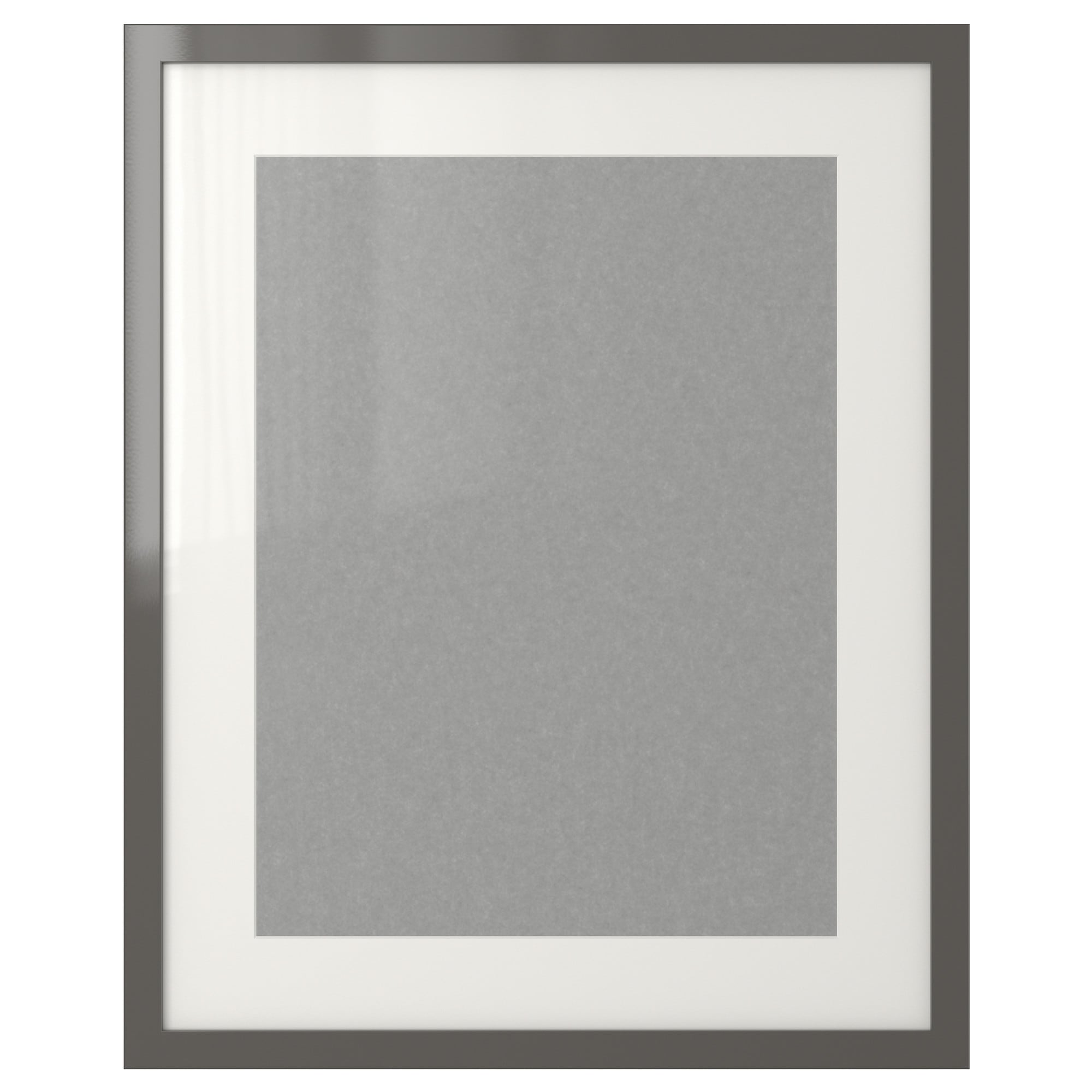 ribba frame high gloss gray picture without mat width 16 picture