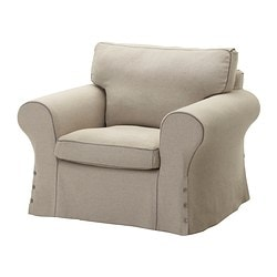 EKTORP armchair cover, Risane natural