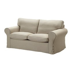 EKTORP cover two-seat sofa, Risane natural