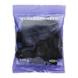 GODIS LAKRITS, Sweet and salty licorice