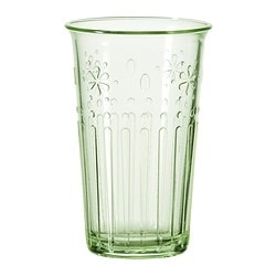 KROKETT glass, light green Volume: 38 cl