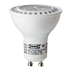 LEDARE LED bulb GU10 Luminous flux: 150 Lumen Power: 3.8 W Luminous flux: 150 Lumen Power: 3.8 W