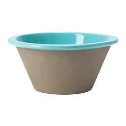 GIRIG serving bowl, light blue Diameter: 20 cm Height: 9 cm