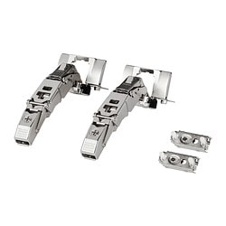 UTRUSTA hinge Opening angle: 153 ° Package quantity: 2 pack Opening angle: 153 ° Package quantity: 2 pack