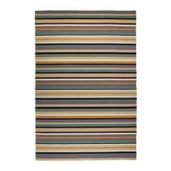 "RANDLEV rug, flatwoven, beige, green Length: 9 ' 10 "" Width: 6 ' 7 "" Surface density: 4 oz/sq ft Length: 300 cm Width: 200 cm Surface density: 1230 g/m²"