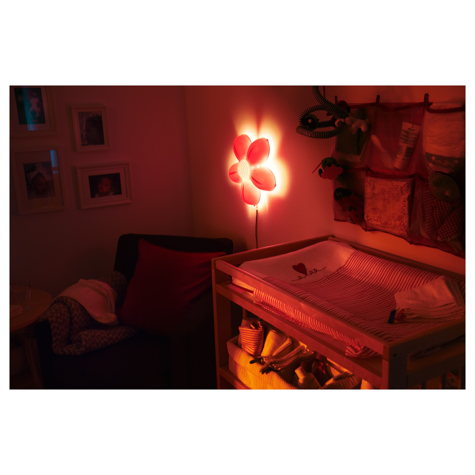 Smila blomma wall lamp with led bulb ikea mozeypictures Gallery