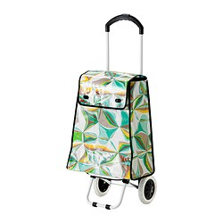 SOLUR shopping bag on wheels Max. load: 20 kg Volume: 40 l