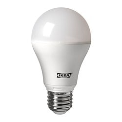 LEDARE bulb E26, globe opal white Power: 7.0 W Package quantity: 1 pack
