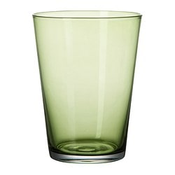 "DIOD glass, dark green Height: 5 "" Volume: 15 oz Height: 13 cm Volume: 45 cl"