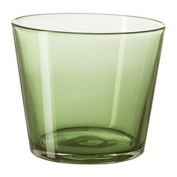 DIOD glass, dark green Height: 8 cm Volume: 25 cl
