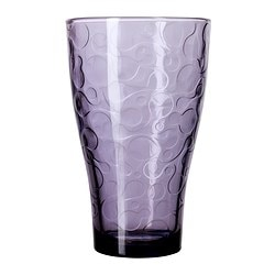 "BYIG glass, lilac Height: 6 "" Volume: 13 oz Height: 14 cm Volume: 38 cl"