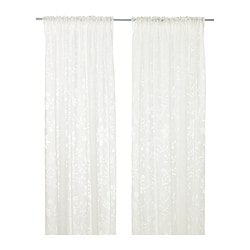 BORGHILD Sheer curtains, 1 pair $24.99