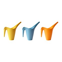 IKEA PS VÅLLÖ watering can, assorted colours Volume: 1.2 l