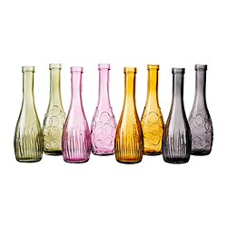 LOVLIG vase, assorted colours, assorted patterns Height: 26 cm