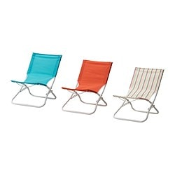 HÅMÖ beach chair, assorted colours Width: 54 cm Depth: 65 cm Height: 63 cm