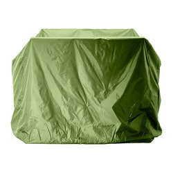 MUSKÖ cover for furniture set, green Length: 140 cm Width: 140 cm Height: 120 cm