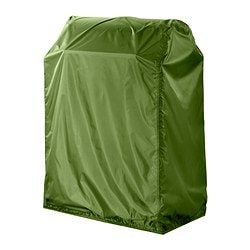 MUSKÖ cover for barbecue Length: 72 cm Width: 55 cm Height: 111 cm