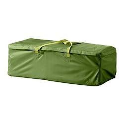 MUSKÖ storage bag for cushions Length: 116 cm Width: 49 cm Height: 35 cm
