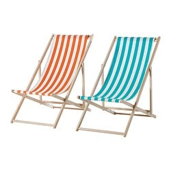 MYSINGSÖ beach chair, assorted colours Width: 53 cm Depth: 99 cm Height: 80 cm