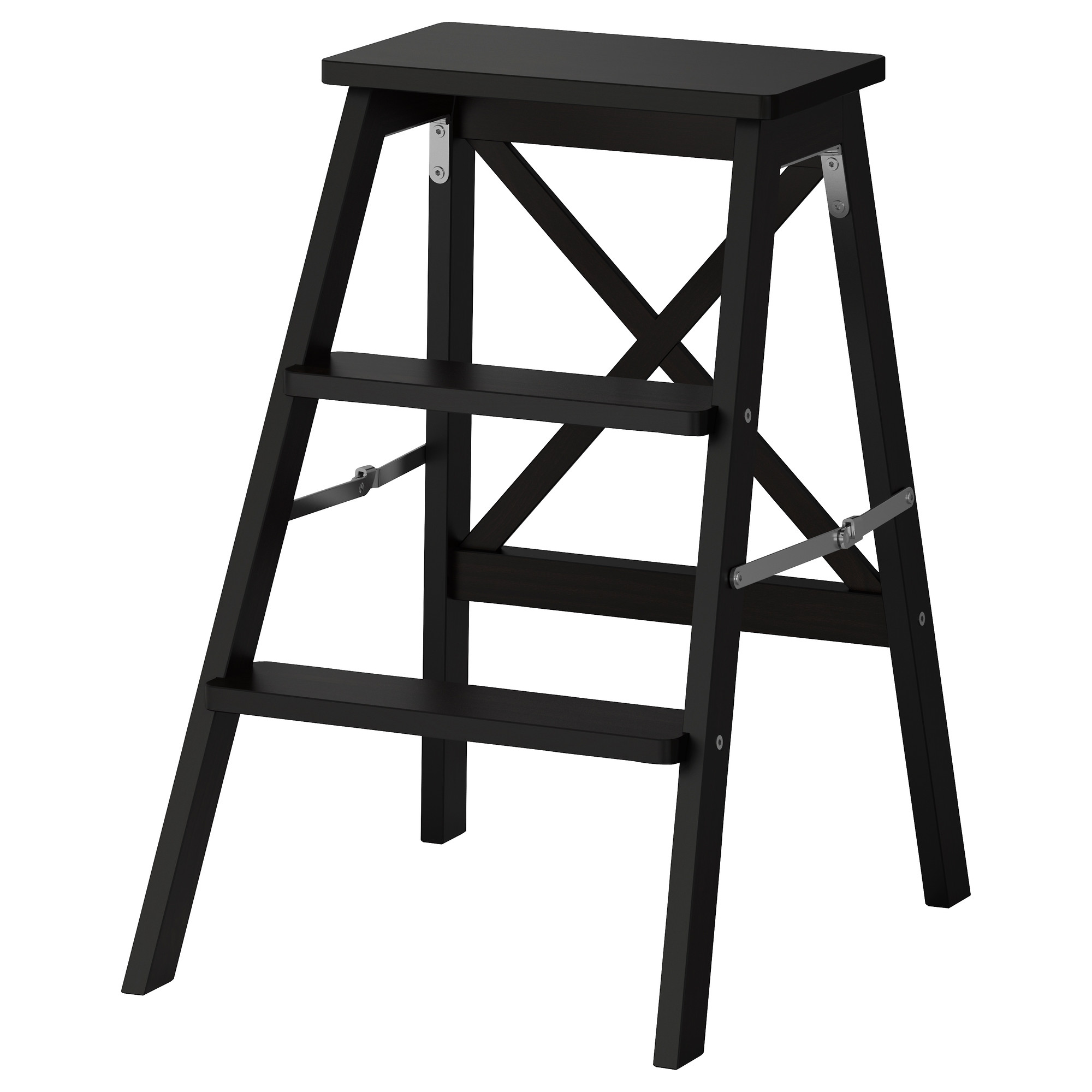 BEKVÄM stepladder 3 steps black Height 24 3/4   Max.  sc 1 st  Ikea & Kitchen Step Stools and Step Ladders - IKEA islam-shia.org