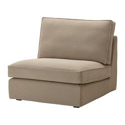 KIVIK one-seat section cover, Replösa beige