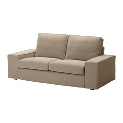 KIVIK cover two-seat sofa, Replösa beige