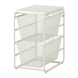 ALGOT Frame/2 mesh baskets/top shelf $51