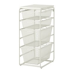 ALGOT Frame with 4 mesh baskets/top shelf $53.99