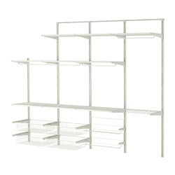 ALGOT Wall upright/rod/shoe organiser $283