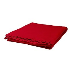 POLARVIDE throw, red