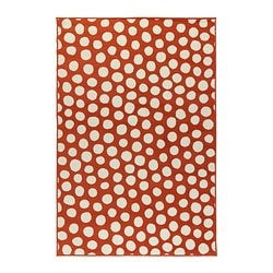 ULLGUMP rug, low pile Length: 195 cm Width: 133 cm Surface density: 1450 g/m²