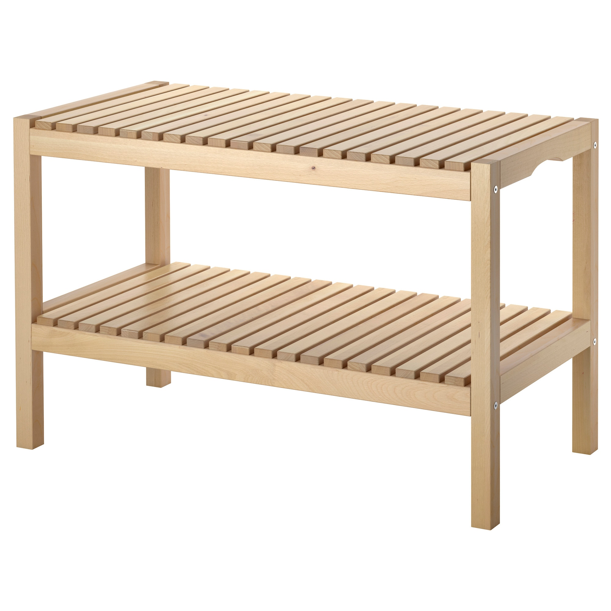 MOLGER Bench - birch - IKEA