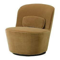 STOCKHOLM Swivel easy chair KD 125