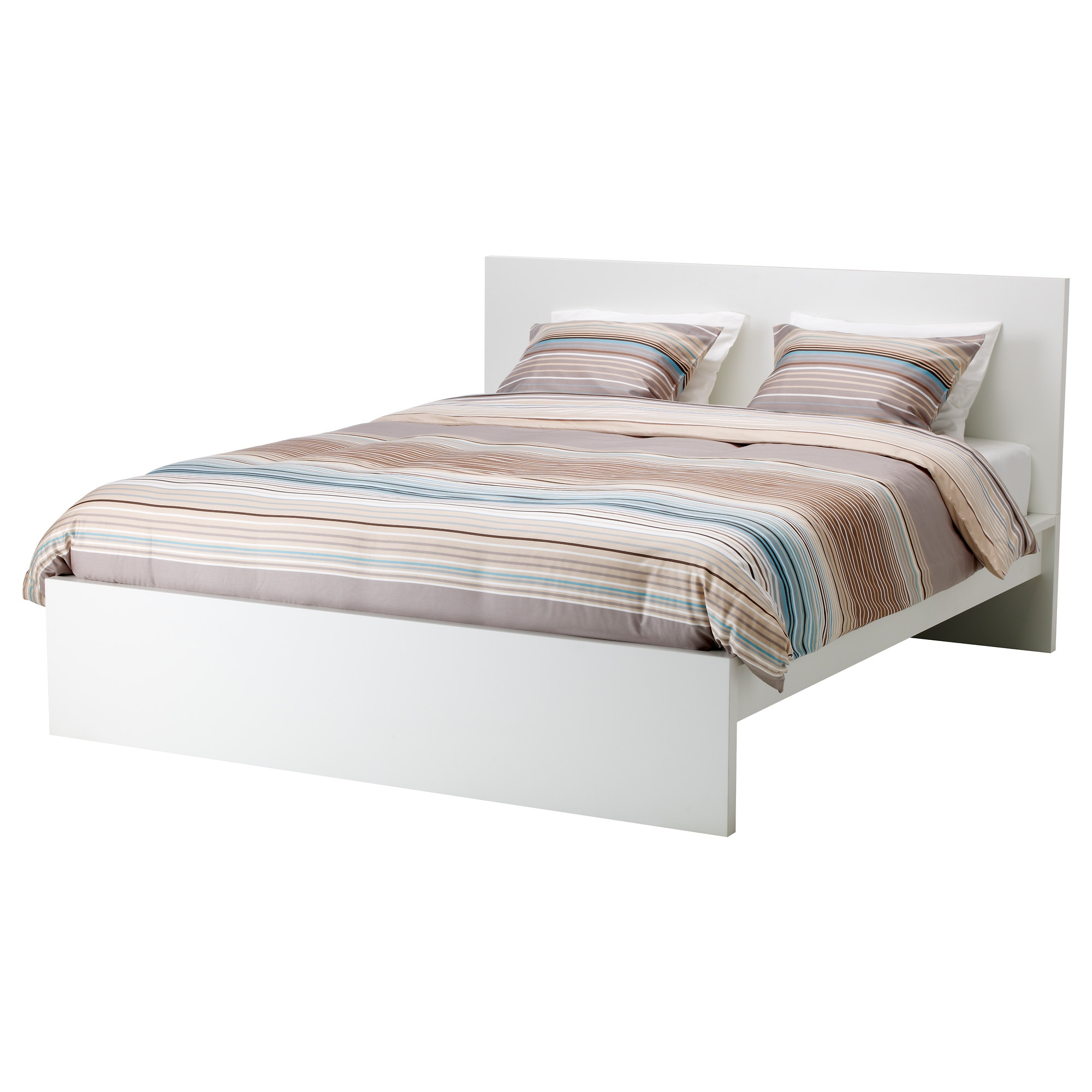 MALM Bed frame high white Queen IKEA
