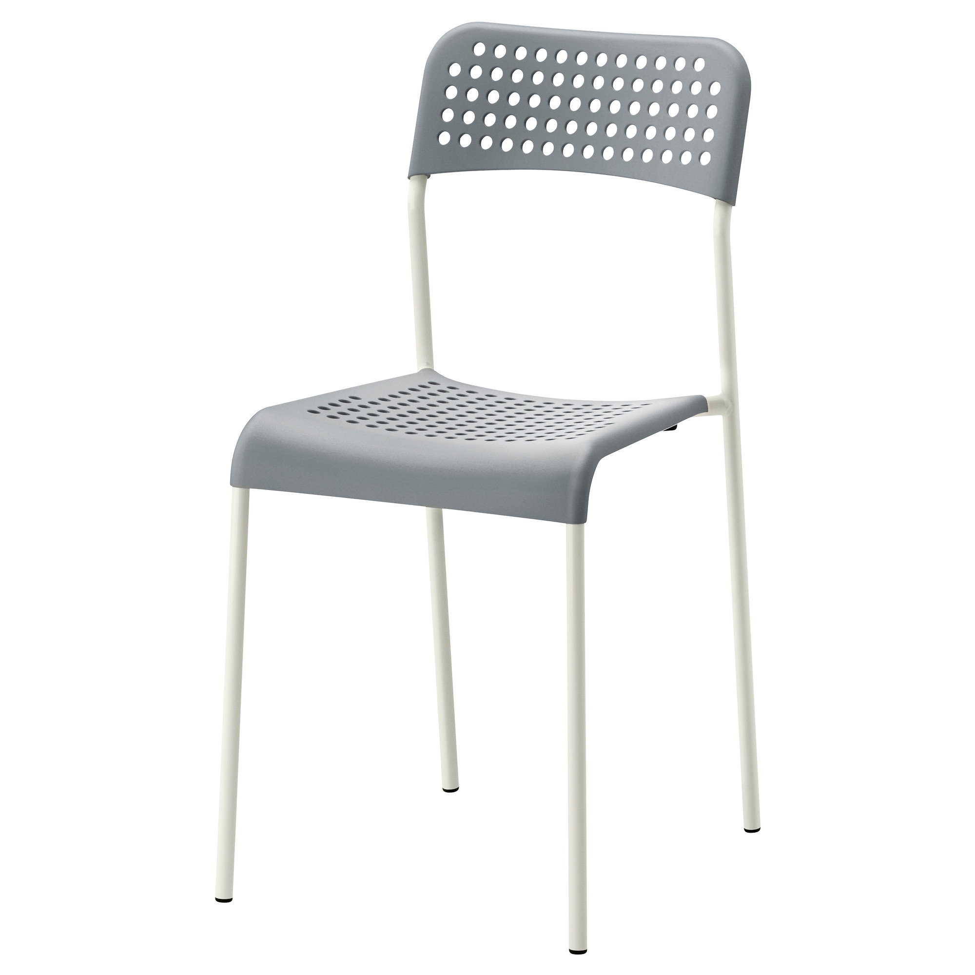 adde chair grey white tested for 110 kg width 39 cm depth