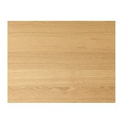 ILSENG 4 panels for sliding door frame, oak veneer Width: 75 cm Height: 236 cm Thickness: 0.4 cm