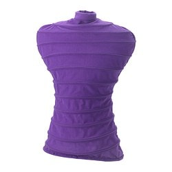 NÄPEN clothes stand cover, lilac Height: 56 cm