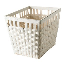 KNARRA basket, white