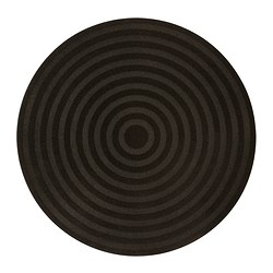 TVIS mat, black Diameter: 80 cm Area: 0.50 m² Surface density: 1150 g/m²
