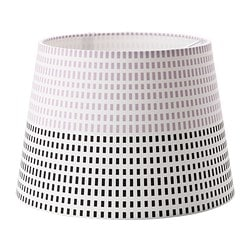 "JÄLSTA shade Diameter: 9 "" Shade height: 6 3/4 "" Diameter: 23 cm Shade height: 17 cm"